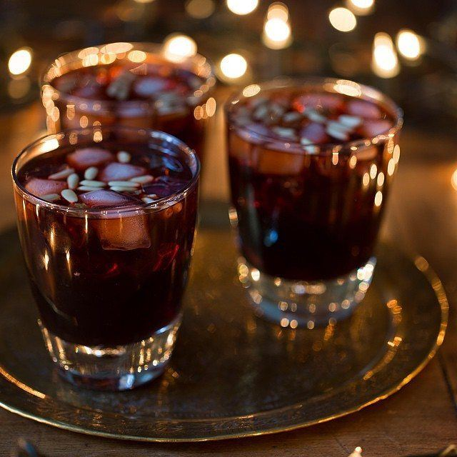 Nothing beats a cool and refreshing jallab. Made from dates syrup, grape...