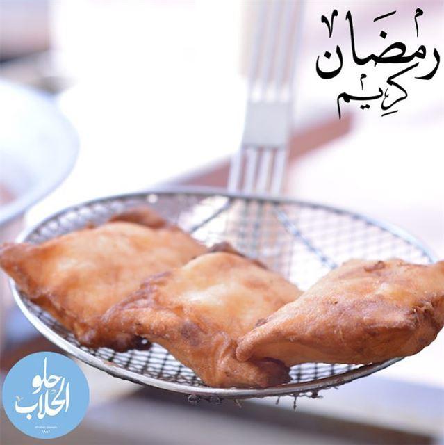 ما في اطيب من كلاج حلو الحلاب بعد هالصيام الطويل.. نتمنى لكم صياما مقبولا و (Abed Ghazi Hallab Sweets)