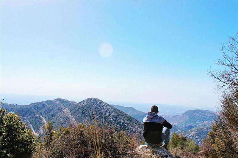 tb aramta aborkab southlebanon mountains sky view nature ... (Aramta - Jizin)