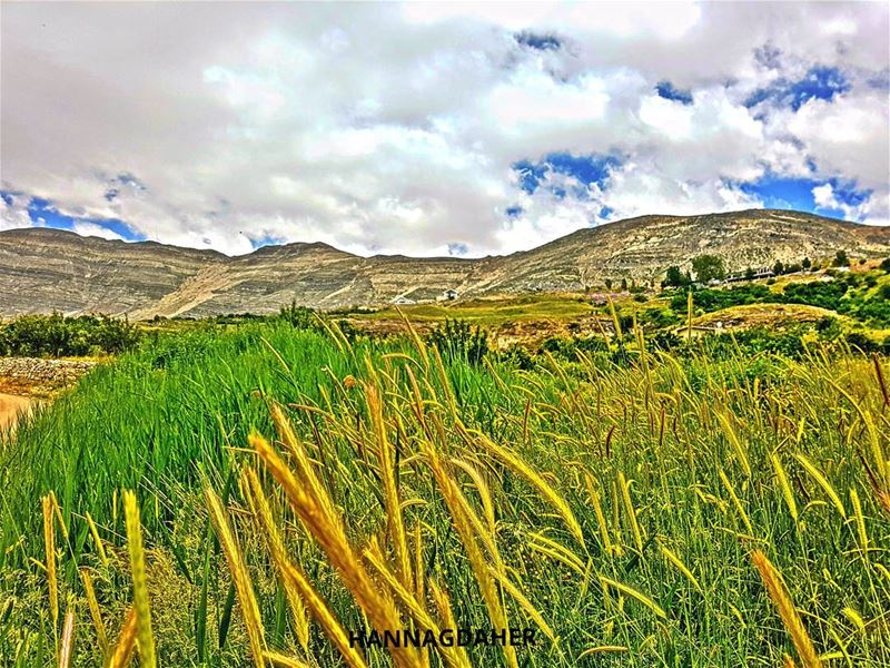 green blue clouds nature sannine lebanon ... (Mount Sannine)