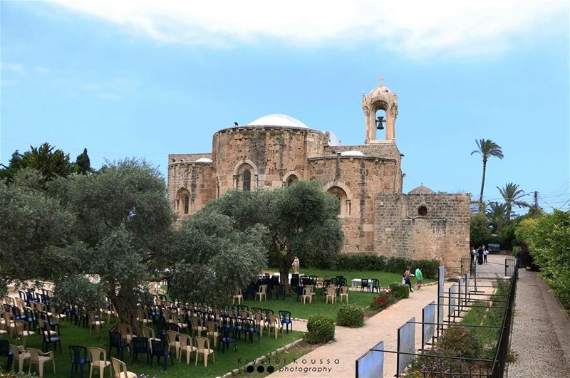 Byblos's St. John is one of the oldest churches of Lebanon 🇱🇧💒 (Byblos, Lebanon)