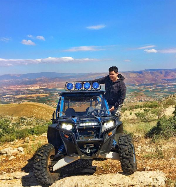 Having fun living that RZR life !@alwalidhallani polarislebanon  rzr  atv...