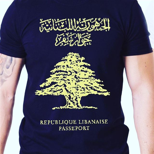 Republique Libanaise passeport 😍👕🇱🇧 lebanese_in_sweden ...