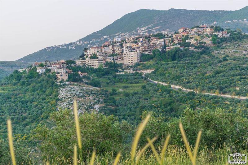 صياما مقبولا و افطارا شهيا من حومين_الفوقا landscape ... (Hoûmîne El Faouqa, Al Janub, Lebanon)