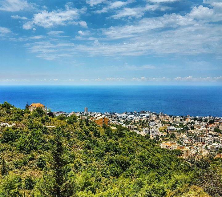 House on the hill and Safra town houses lebanonhouses safra view ... (As Safra', Mont-Liban, Lebanon)
