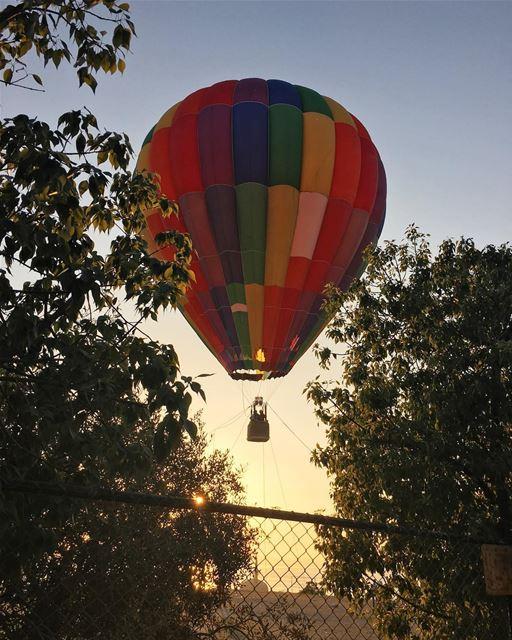 @visitsaida for a Hot Air Balloon Ride, tonight after the Iftar and... (Bramieh Saida)