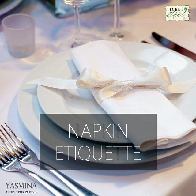 Vera on  napkin  etiquette with @gracytta in @yasminadotcomخبيرة الإتيكيت... (Beirut, Lebanon)
