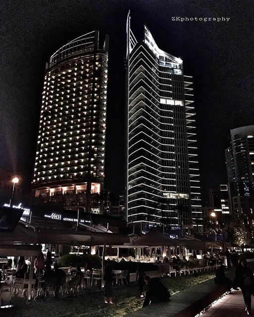 Beirut by night ✨ • insta_lebanon ig_lebanon lebanon_pictures ... (Zaitunay Bay)