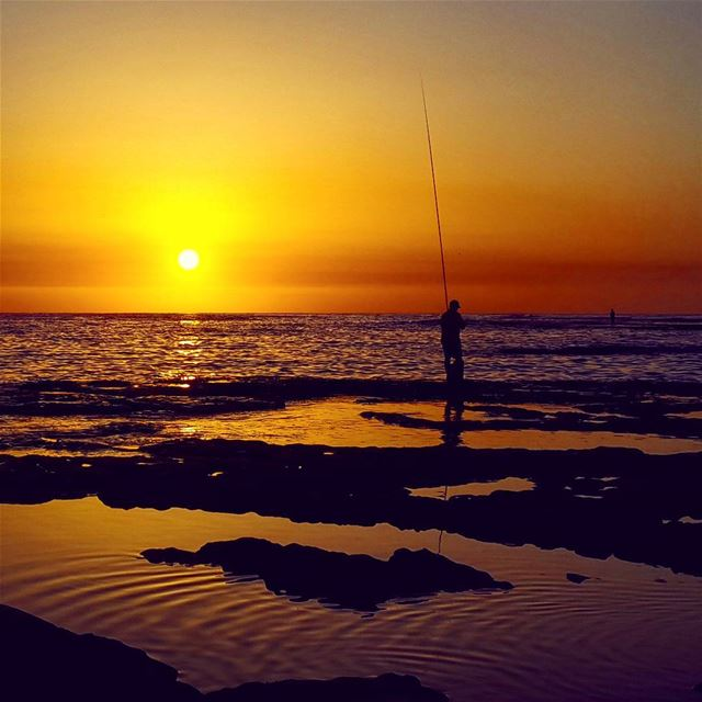 Fisherman's dinner. photography sunset byblos lebanon livelovebyblos ... (Byblos, Lebanon)