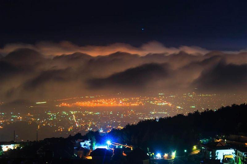 beirut kayfoun cityscape citylights landscape nature lebanon lebanon_hdr... (Kayfun, Mont-Liban, Lebanon)