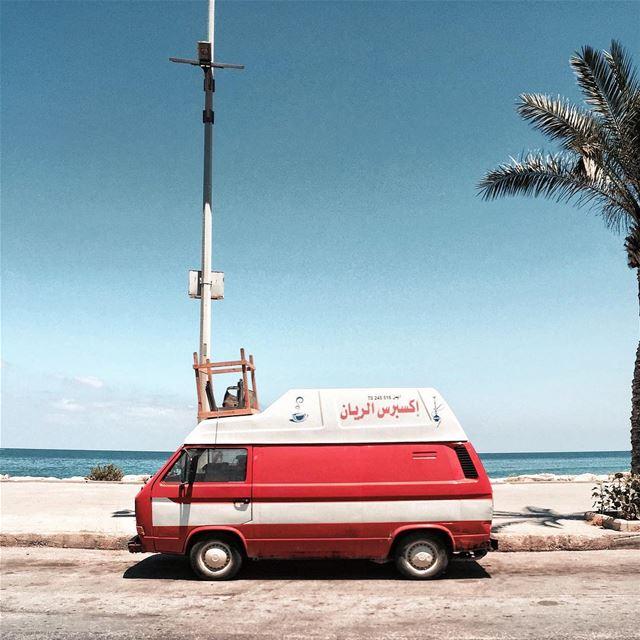 🚐🌴 Beirut nature featureshot iamatraveler....- [ ] vsco vscocam... (Tyre, Lebanon)
