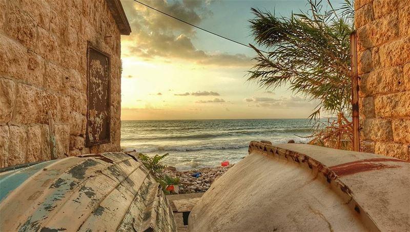 ...و موج بحرٍ يرمي زبده على شاطئي ..و شمسي هي انا حين اغفو على رمله و استفي (Lebanon)
