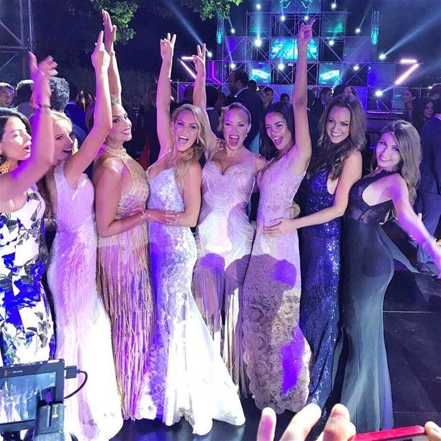 Electric forest Bridesmaids ❤️🍾🎉 nazos anjar bridesmaids girlfriends ... (`Anjar, Béqaa, Lebanon)