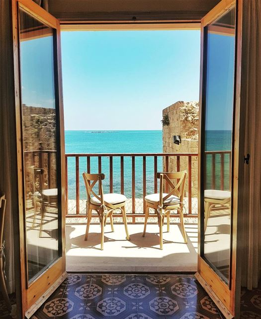 Good morning Lebanon! 💙 From the wonderful Dar Alma Hotel in Sour! 🌟🌟🌟� (Dar Alma)