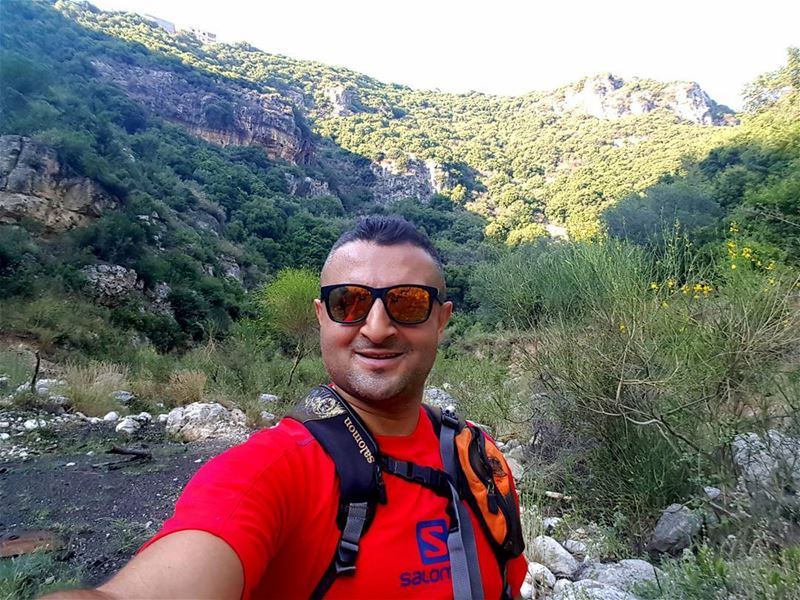 hiking climbing nature extreme sports salomon lebanon mountains ... (St Rafqa-Jrebta)