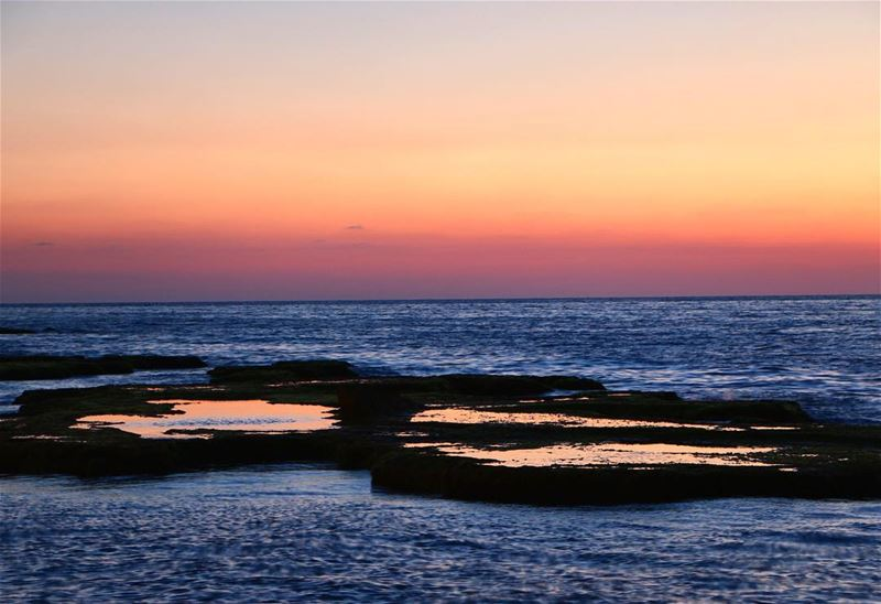 Peace .... sunset sunsetlovers sunsetpics landscape... (Beirut, Lebanon)