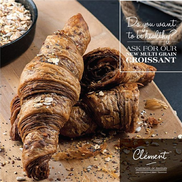 Ask for our new multi grain croissant 🥐😋 livelovefood livelovebeirut ...