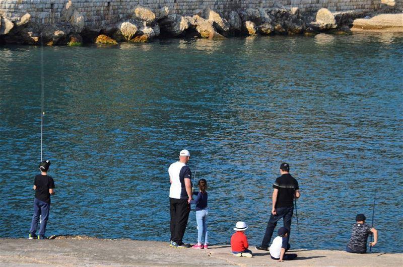 birth order lebanon fishing fishermen pêche streetphotography ...