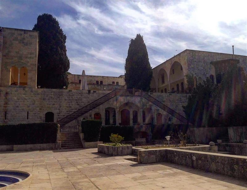 Back in time lebanesebucketlisters beirut lebanon miramine chouf ... (Mir Amin Palace Hotel)