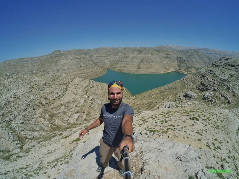 The best view comes after the hardest climb😉😎11/06/17 (Chabrouh Dam-Faraya)