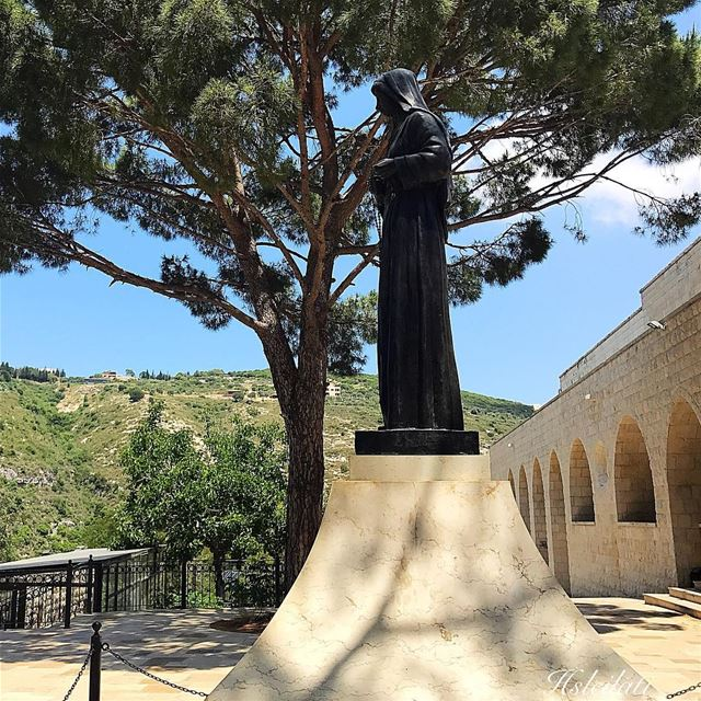 Blessed Sunday ❤️ whatsuplebanon insta_lebanon super_lebanon ... (St Rafqa-Jrebta)