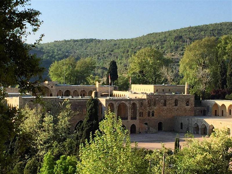 a7labaladbil3alam 🌳💙 photo love photograph photography me ... (Beiteddine Palace)