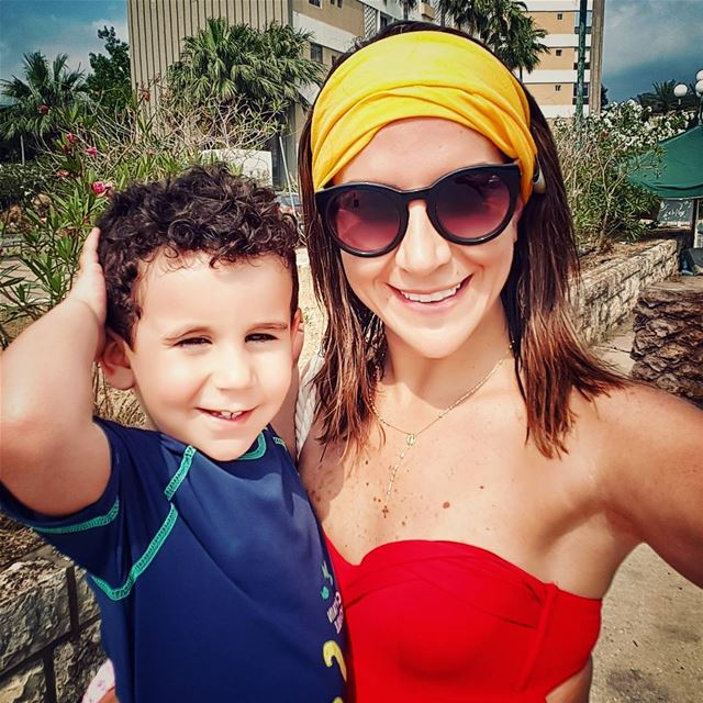 ❤ saturdays dailyparenting familyday mylittleman lovehimtopieces ... (Tabarja Beach Resort)
