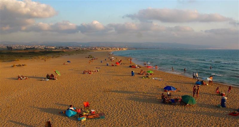 ☀️☁️⛱ tyre beach canonme livelovetyre lebanonphotography ... (Tyre, Lebanon)
