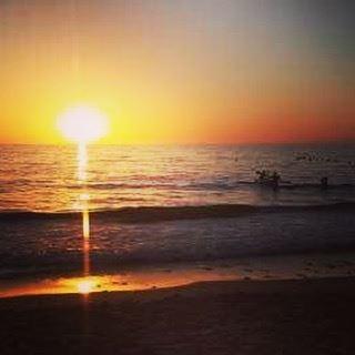 Such a lovely evening at Batroun seaside watching the sun go down 🌅 ... (Batroûn)