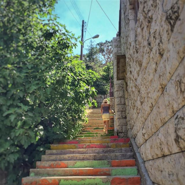 Colorful Life Love Monday Morning @vitalina.a LiveLoveLebanon ... (Dhour choueir)