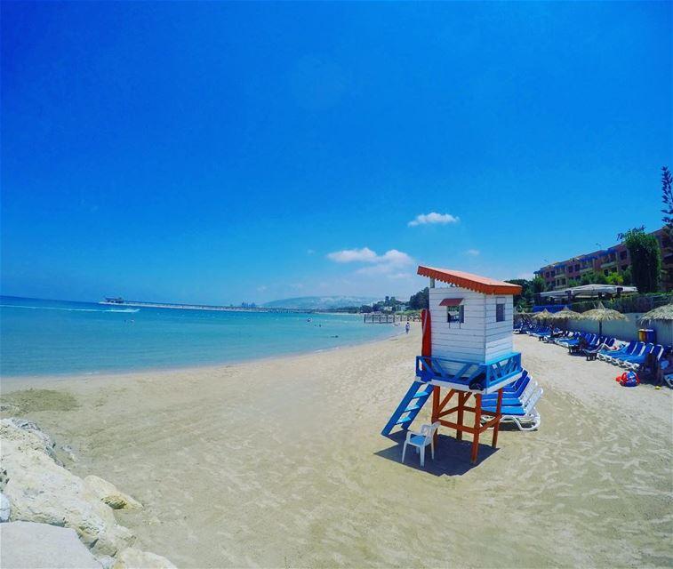 Baywatch 🏖 lebanon lebanesebucketlisters whatsuplebanon beach ... (Chekka)