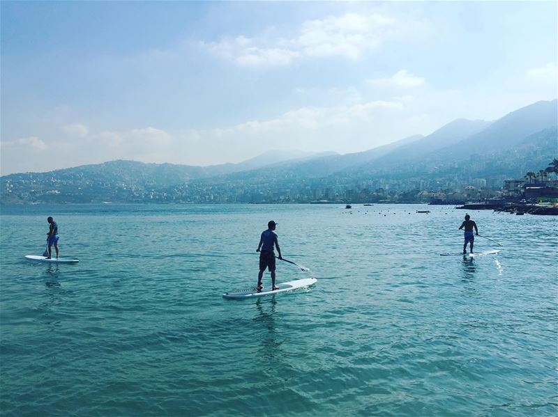 What's SUP? 🏝🏝🏝.. summer  happy  like4like  livelife  paddle ... (Surf Shack Lebanon)
