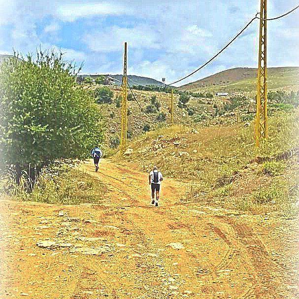 running nature lebanon 🏃