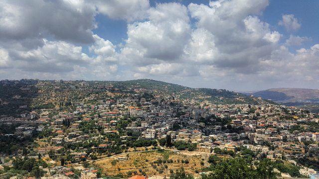 morning amazingweather amazing view viewsoflebanon viewfromhome ... (Hasbaya)