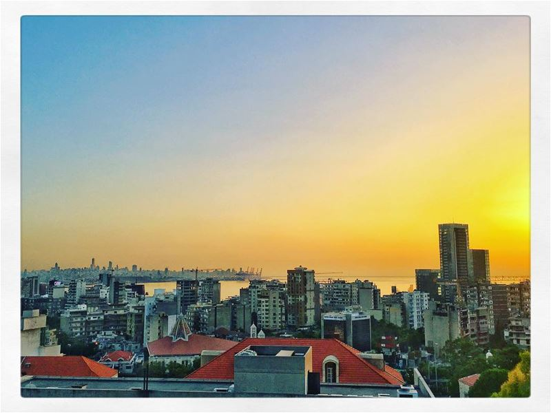 beirut as seen from ... (Upper Room)