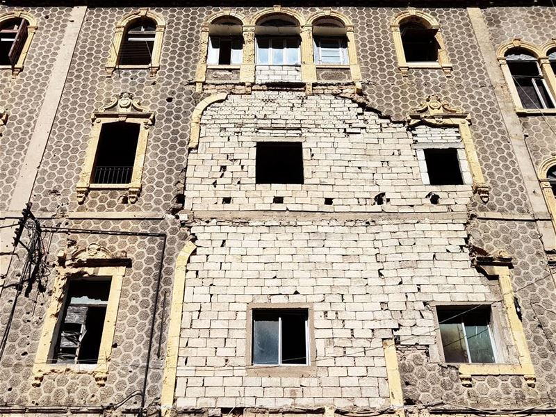 ~ War Scars ~... beirut heritage architecture archilovers ... (Beirut, Lebanon)