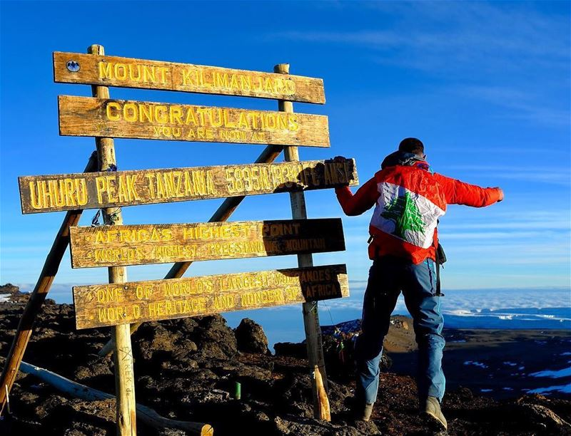 ... (Mount Kilimanjaro)