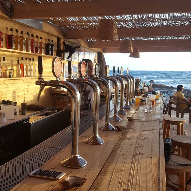 batroun @colonelbeer sunset mediterranean sea mediterraneansea ... (Colonel Beer Brewery)