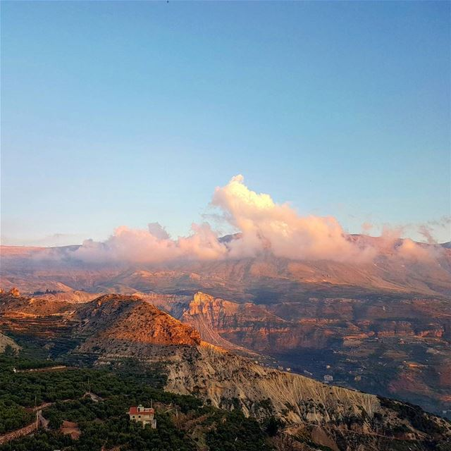 Late weekend landscape. kadisha valley lebanon middleeast unesco ... (Kadisha Valley)