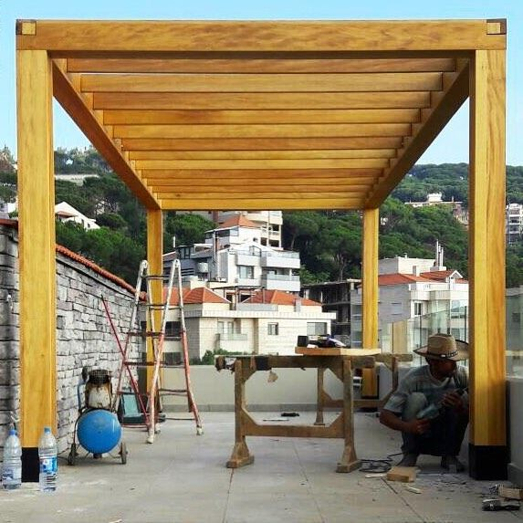 That kind of Perspective. PergolaKitsLebanon on site.. Pergola wood ... (Brummana)