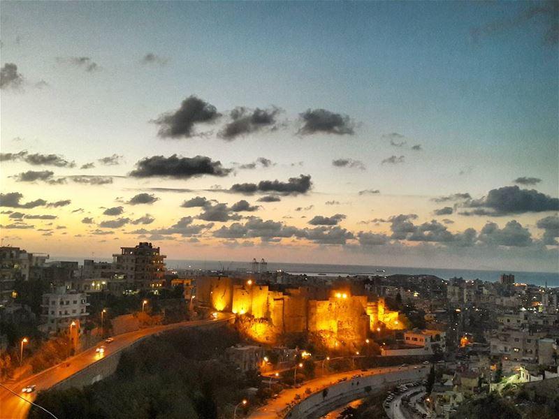 🌅 Sunset Tripoli Happy TripoliLB ILoveTripoli Sky LiveLoveTripoli... (Tripoli, Lebanon)