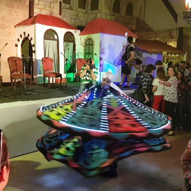 Tannoura during ramadaniyat tripoli tourleb tourlebanon lebanon ... (Tripoli, Lebanon)
