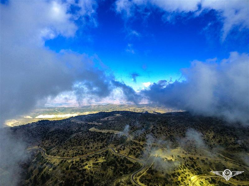 In between the clouds Arz el Chouh. dji phantom phantom4pro phantom4...