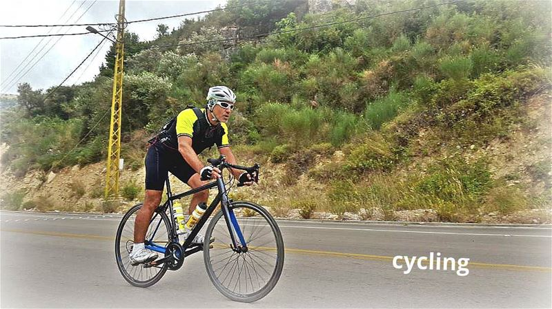cyclinglife  cycling  cyclingday  lihfid ... (Lihfid, Mont-Liban, Lebanon)