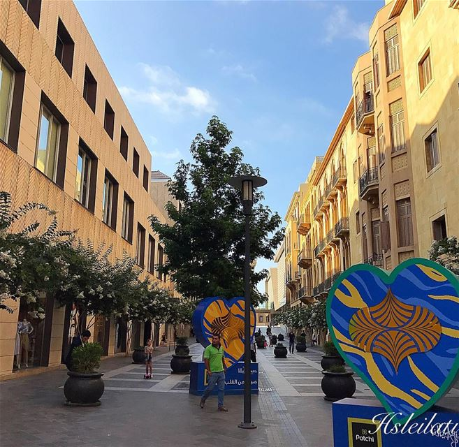 Be in love with your life❤️every minute of it😊 whatsuplebanon ... (Downtown Beirut)