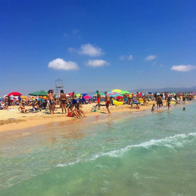 ☀️🌊 sour tyr beach sourbeach summer ... (Tyre-Sour At Beach)