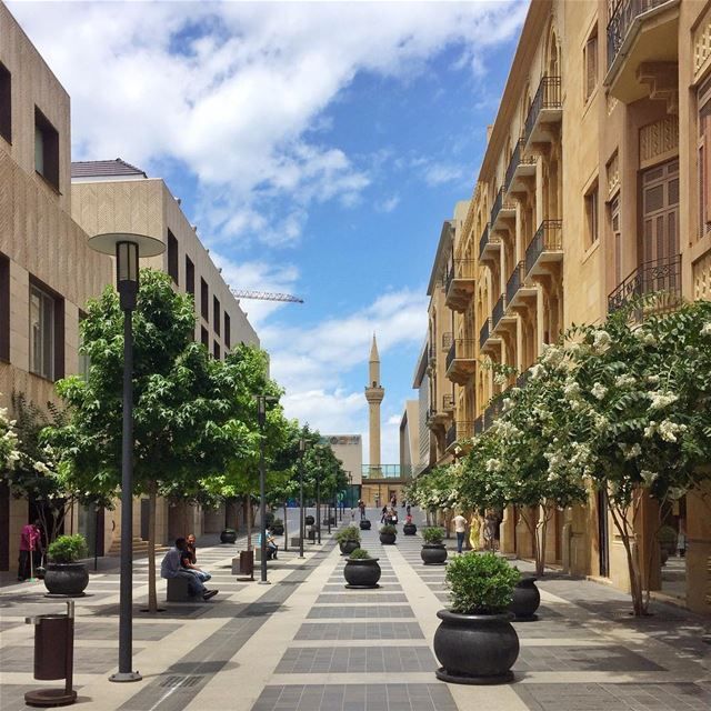 Beautiful afternoons like this in the heart of downtown Beirut 🇱🇧 ... (Downtown Beirut)