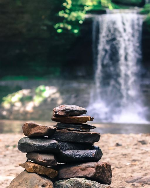 Who's good at rock balancing? Or like me, good at only taking photos of...