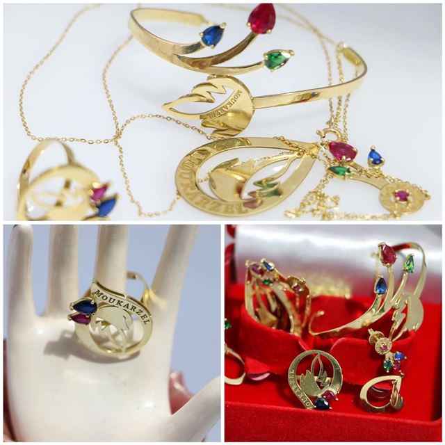 jewlery jewelry jewelryart jewlerygram jewelryoftheday gold women ladies... (Beirut, Lebanon)