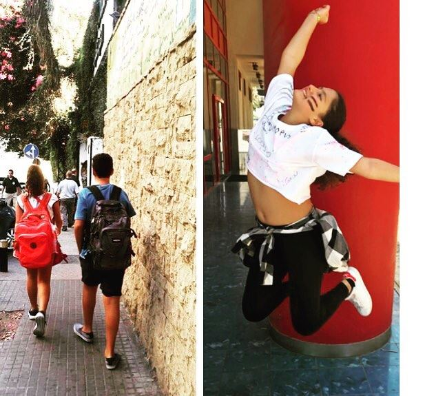 First day and last day of school 😝 lastdayofschool happyvacation ... (IC Campus - Ras Beirut)